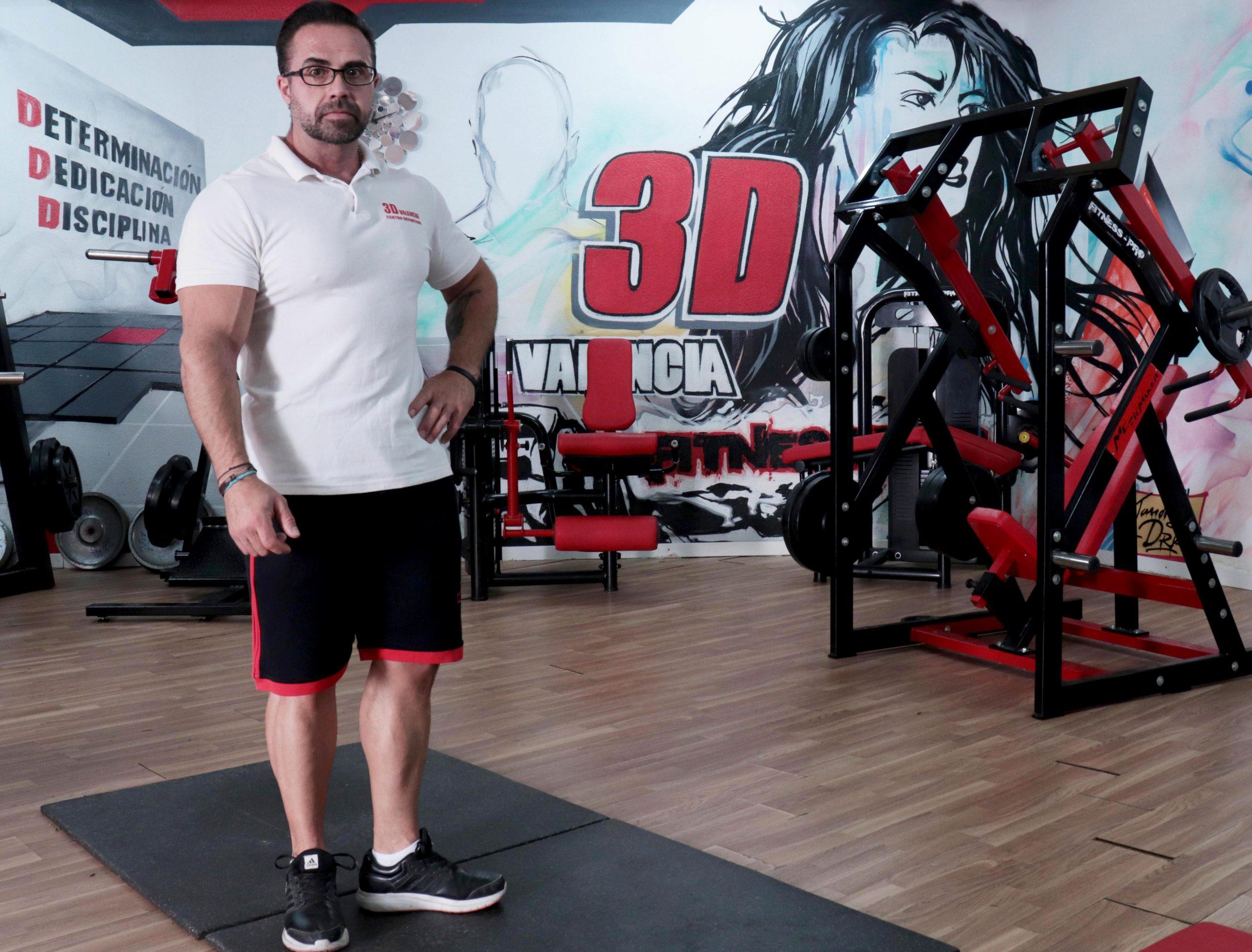 Instalaciones deportivas gimnasio 3dvalencia