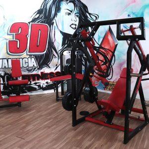 maquina musculacion gimnasio 3dvalencia